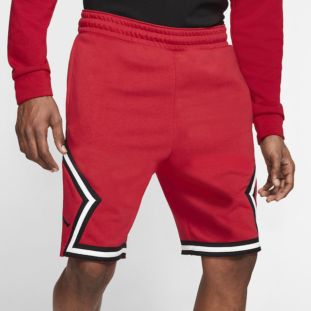 jordan-14-gym-red-shorts-match-1