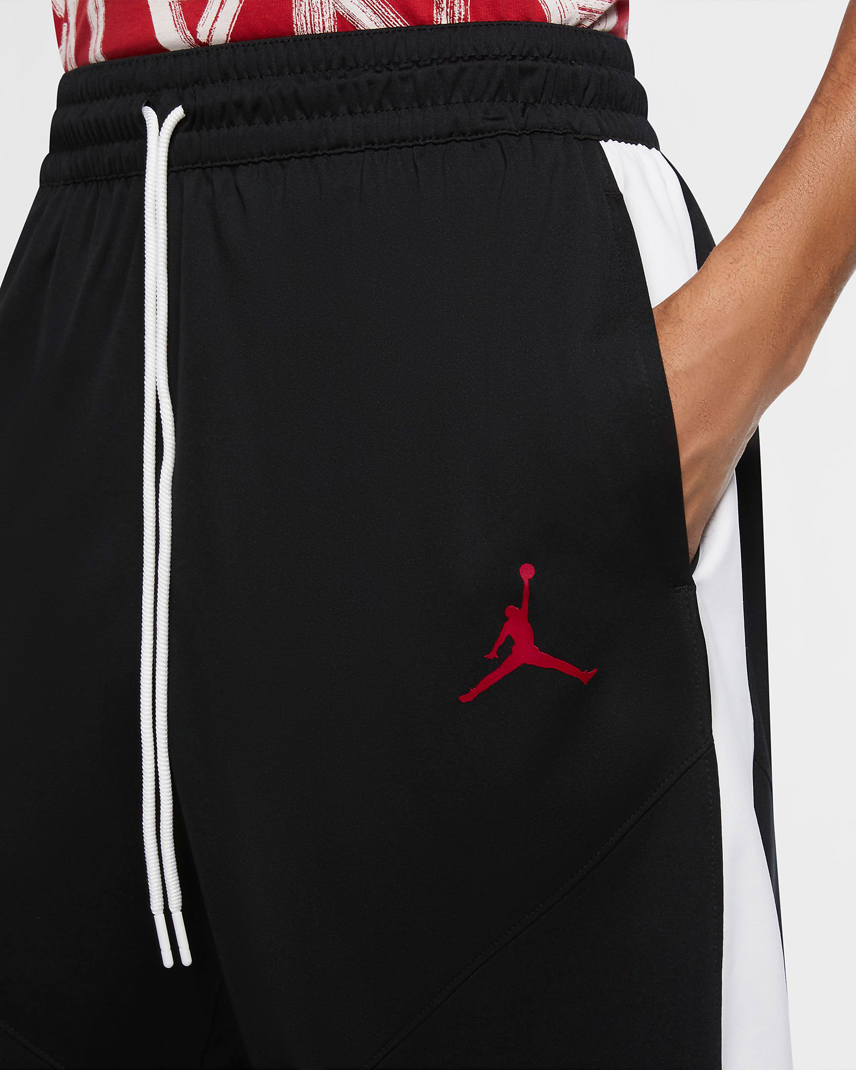 jordan-black-white-gym-red-basketball-shorts-2
