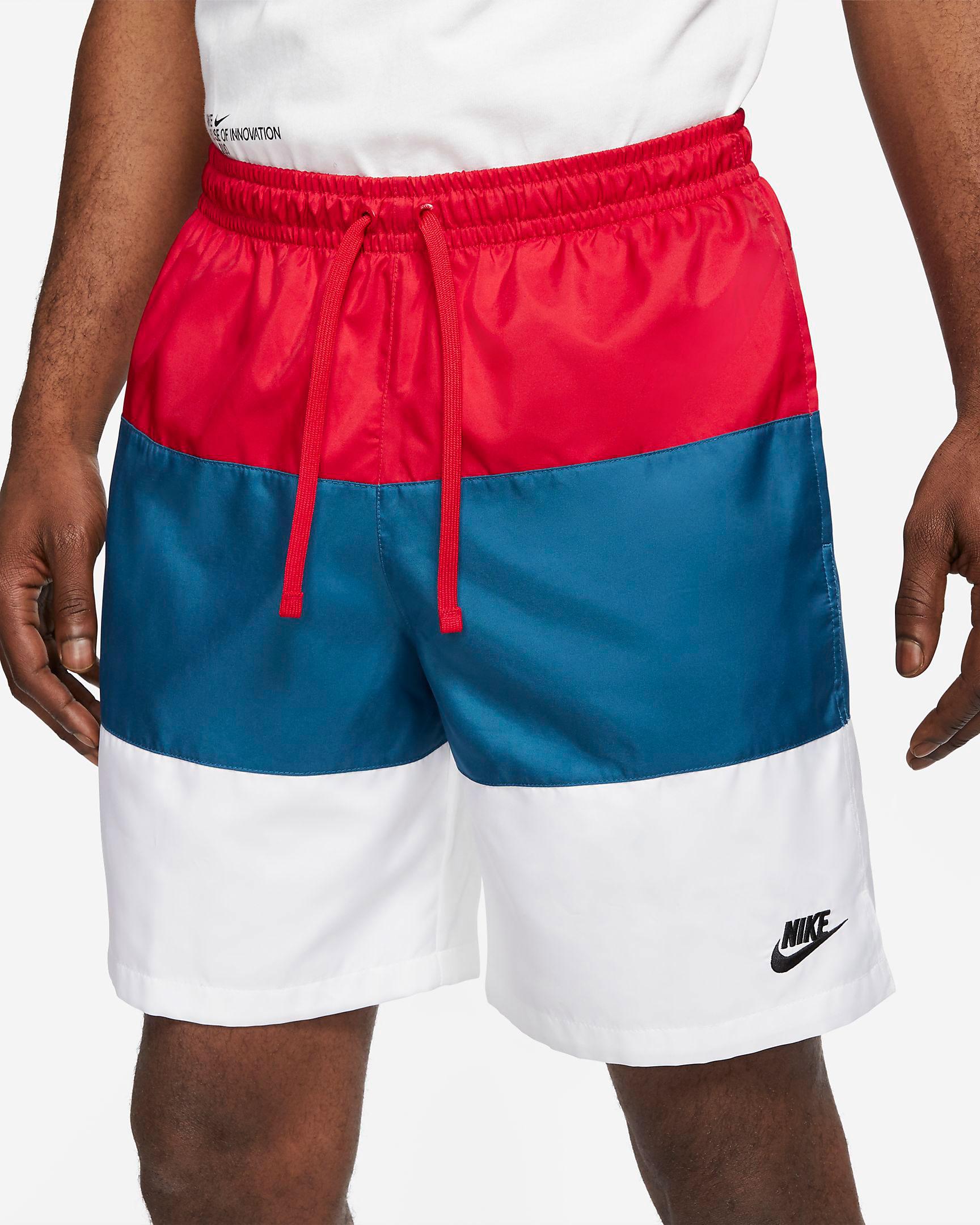nike-americana-club-red-white-blue-shorts