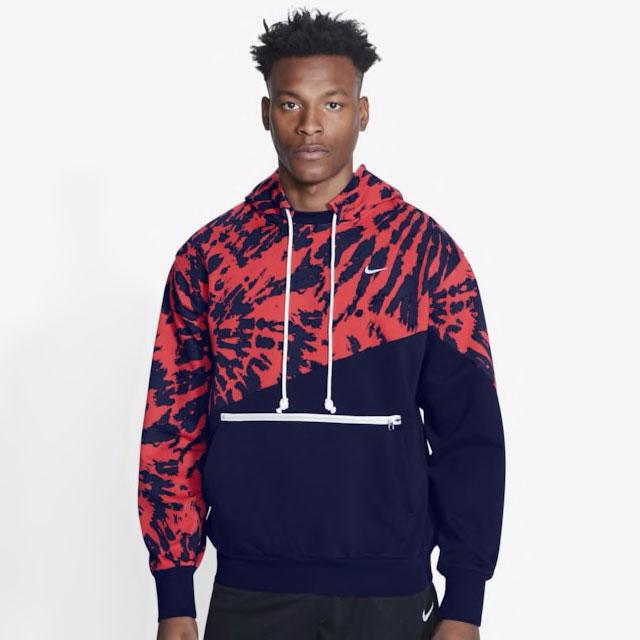 nike-lebron-17-graffiti-fire-red-cold-blue-matching-hoodie-1