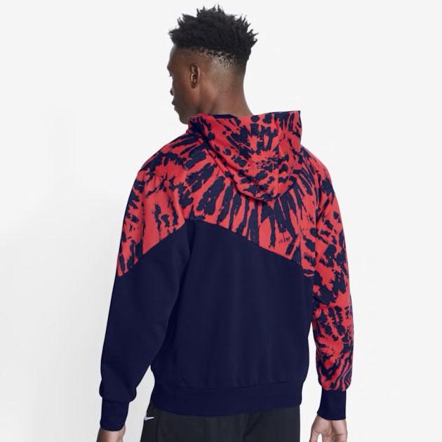 nike-lebron-17-graffiti-fire-red-cold-blue-matching-hoodie-2