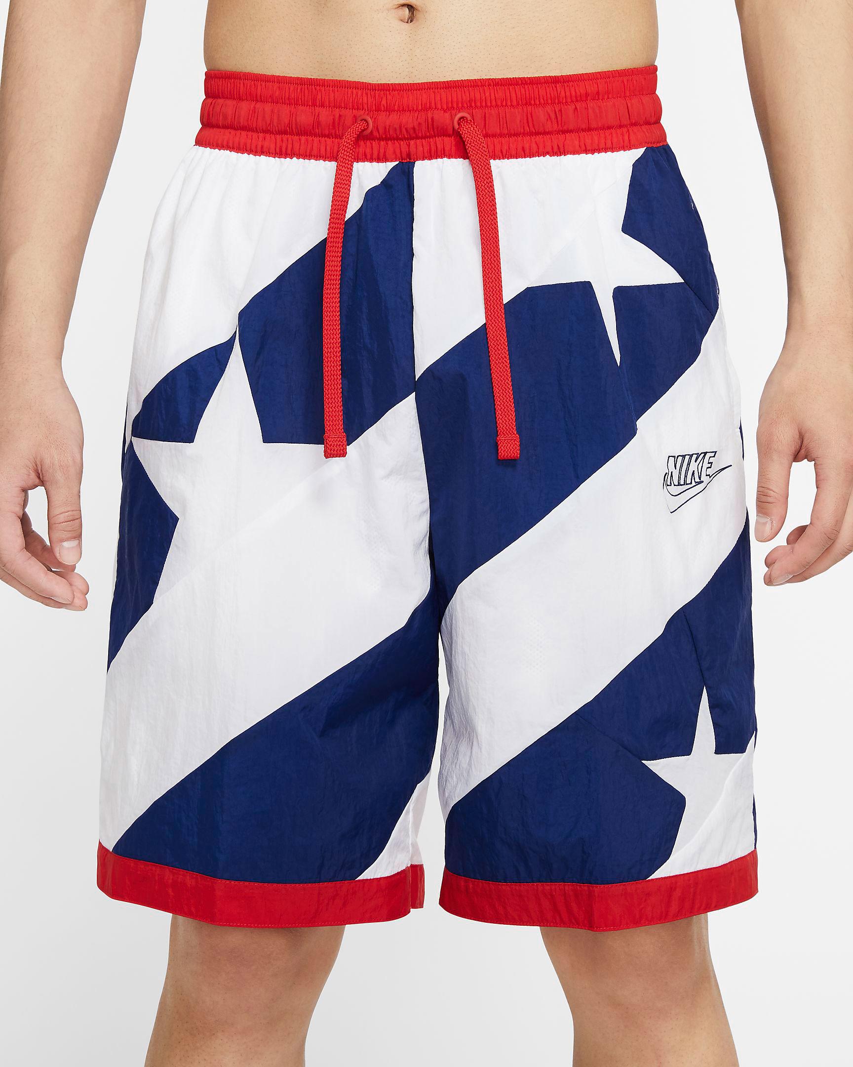 nike-lebron-17-graffiti-fire-red-cold-blue-matching-shorts