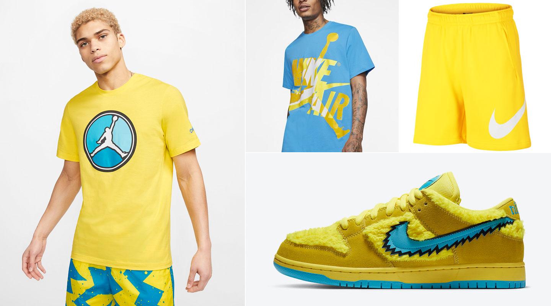 nike-sb-dunk-low-grateful-dead-yellow-bear-clothing-match