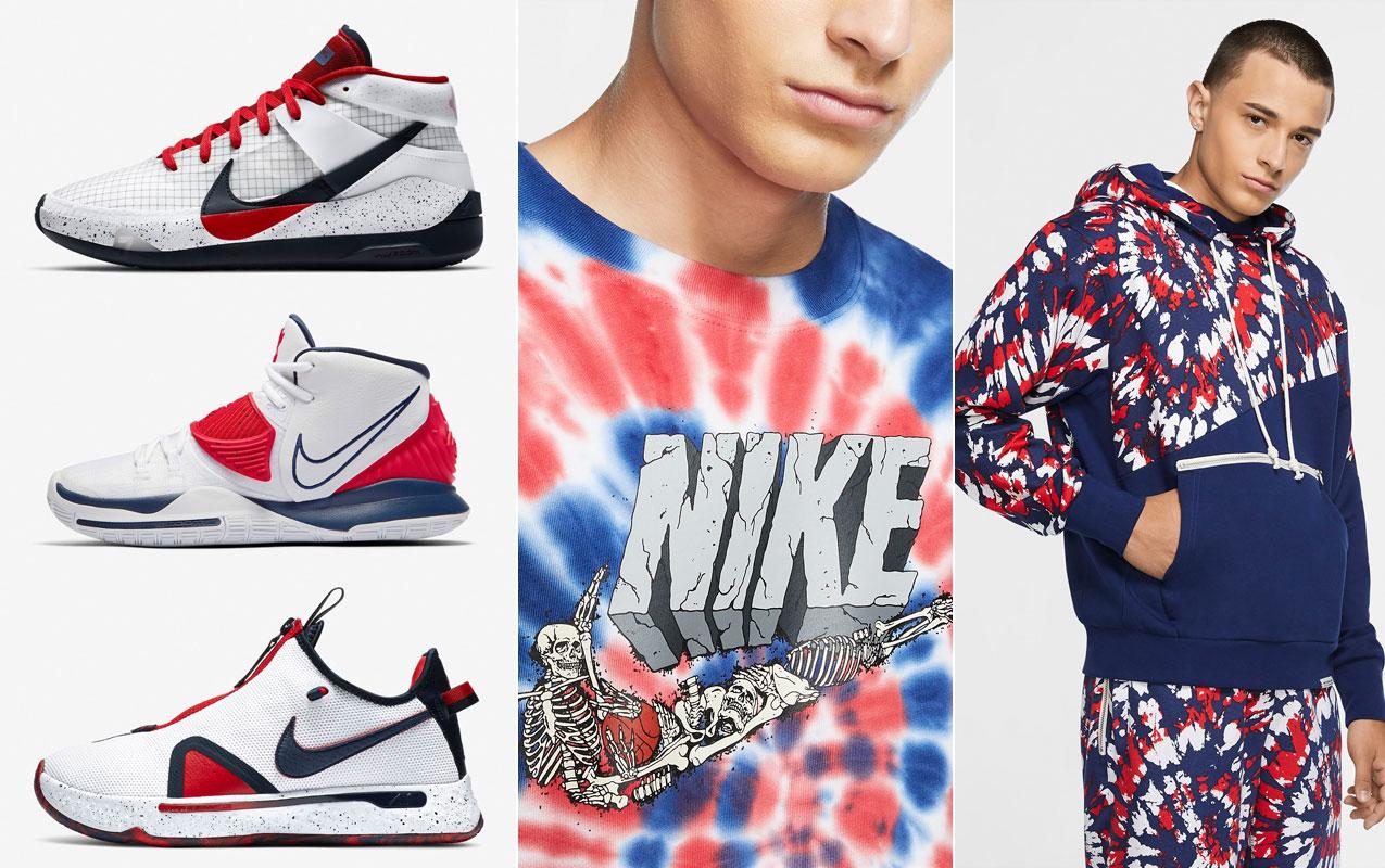 Nike Basketball USA Shoes and Clothing