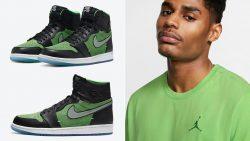 air-jordan-1-high-zoom-zen-green-shirt
