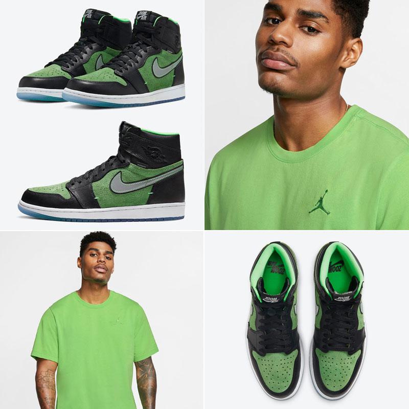 air-jordan-1-zoom-zen-green-sneaker-shirt