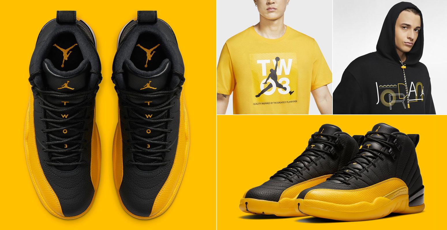 air-jordan-12-university-gold-sneaker-match-outfit