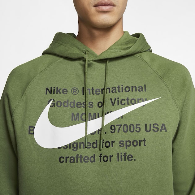 jordan-1-high-zen-green-nike-hoodie-match