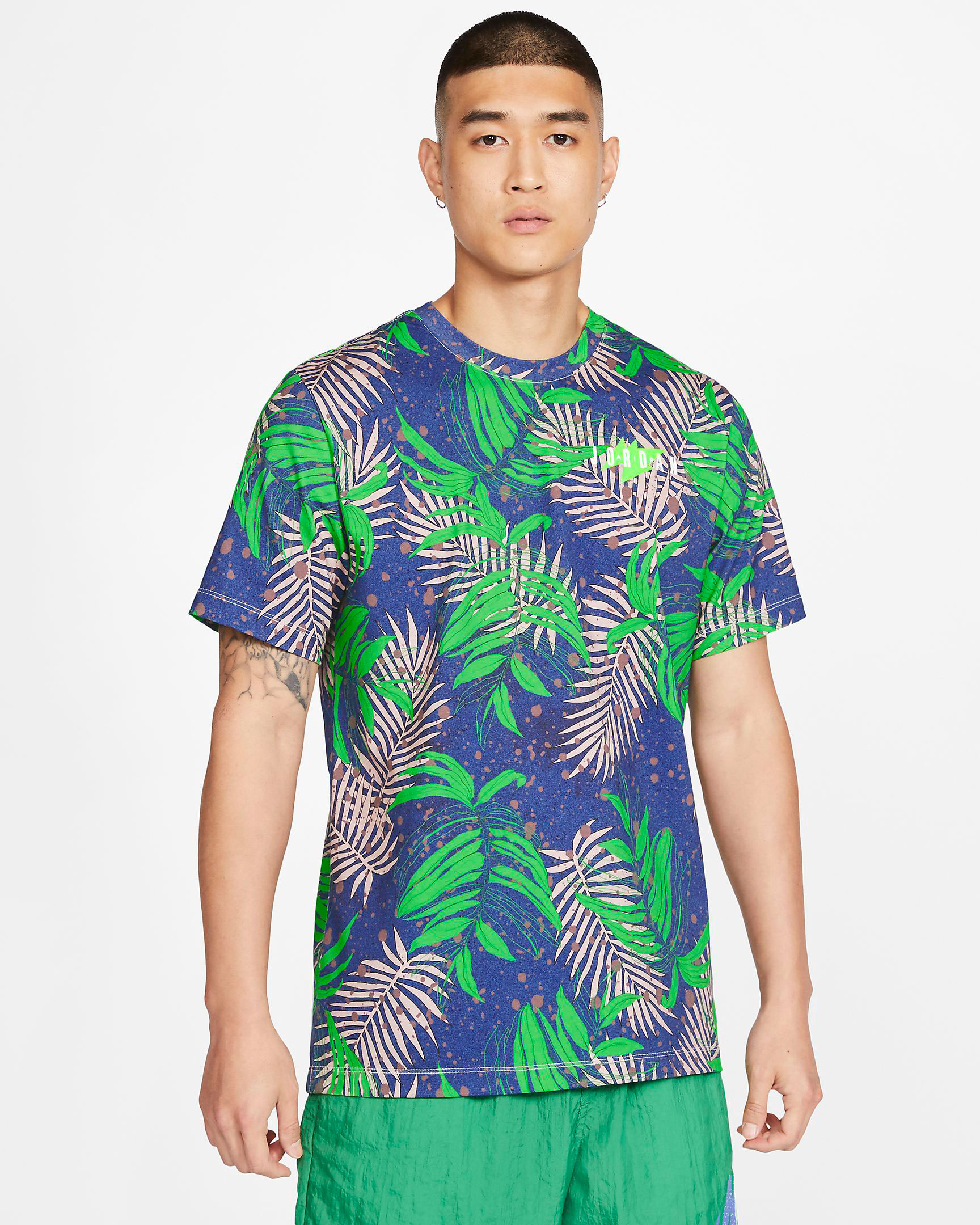 jordan-1-high-zen-green-shirt-match-2