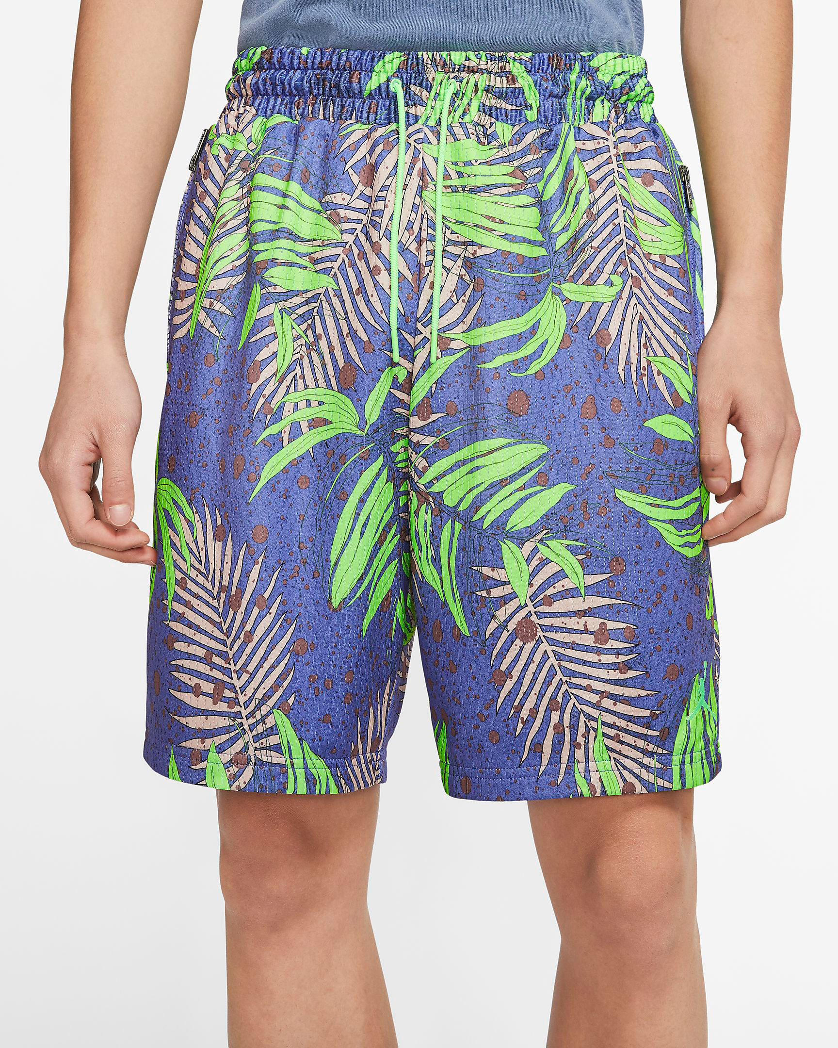 jordan-1-high-zen-green-shorts-match
