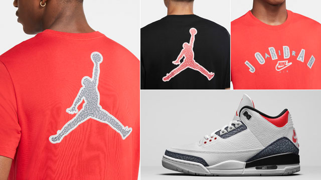jordan-3-fire-red-denim-sneaker-shirt