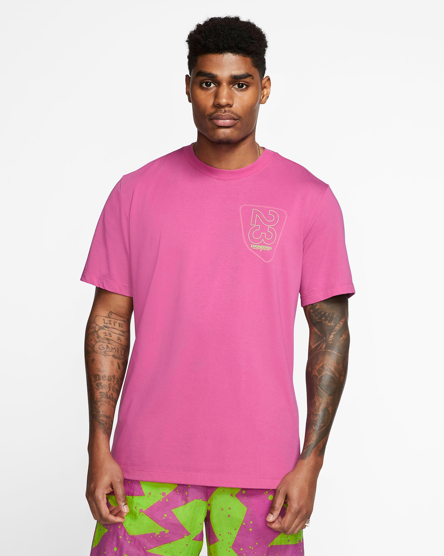 jordan-5-bel-air-2020-pink-shirt-match-1