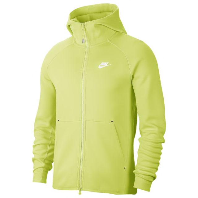 jordan-5-bel-air-alternate-ghost-green-nike-hoodie-match