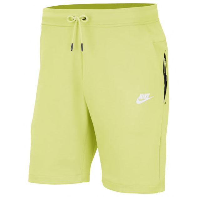 jordan-5-bel-air-alternate-ghost-green-nike-shorts-match