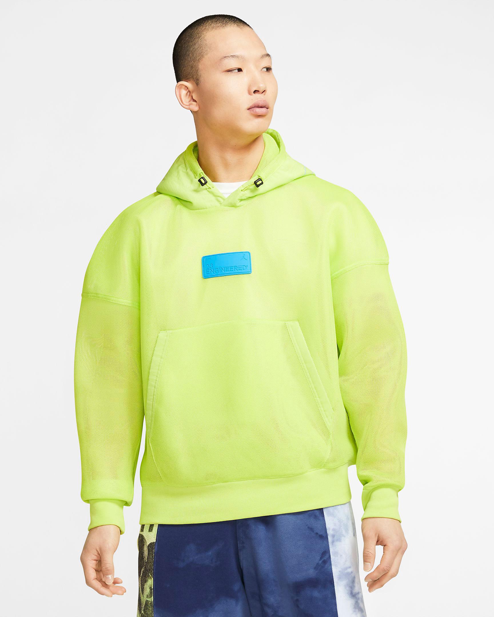 jordan-5-ghost-green-bel-air-hoodie-match-1