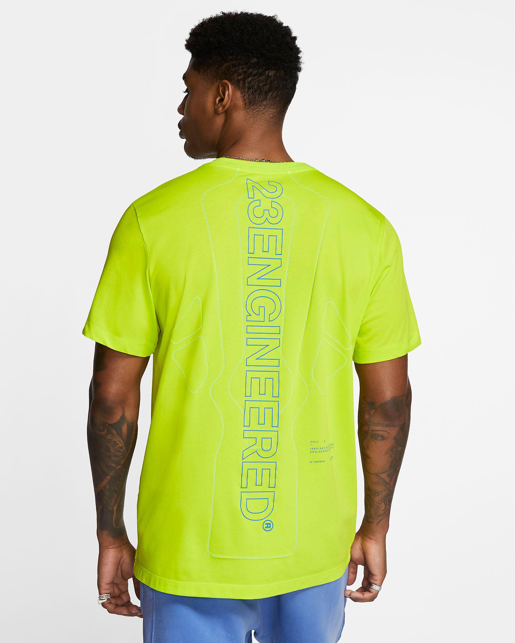 jordan-5-ghost-green-bel-air-shirt-match-2
