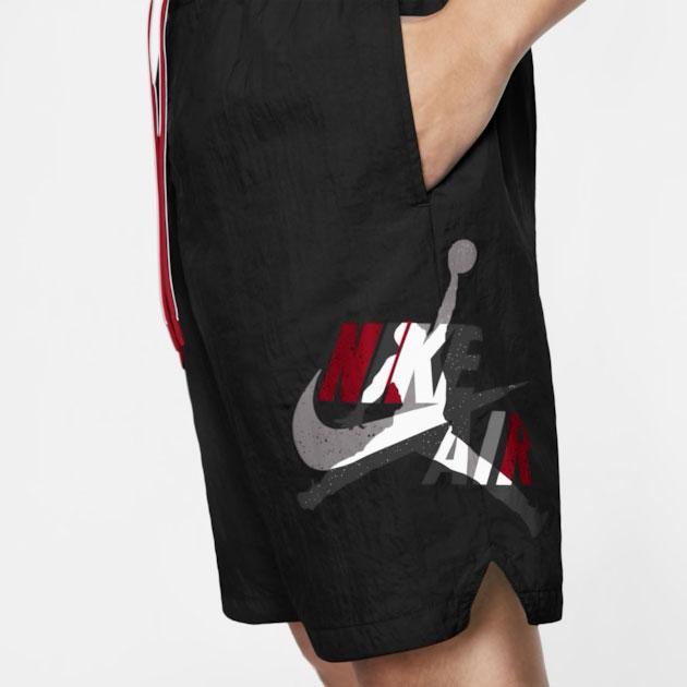 jordan-jumpman-classics-bred-black-red-poolside-shorts-2