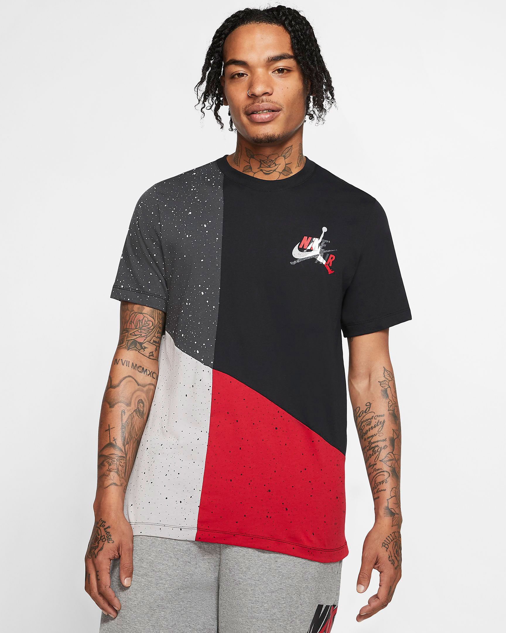 jordan-jumpman-classics-bred-black-red-shirt