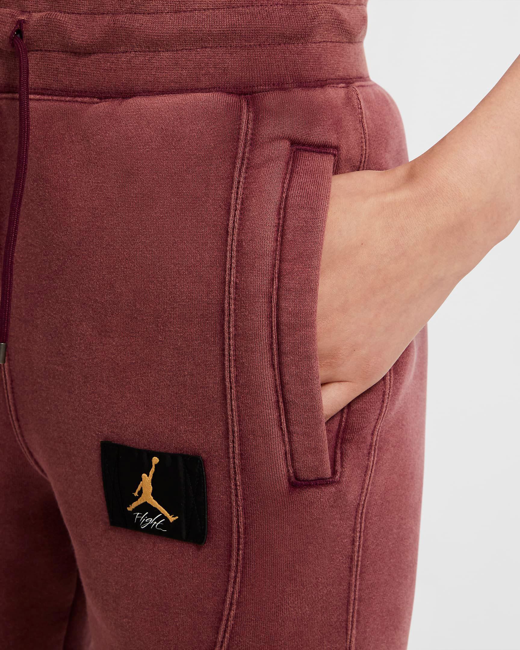 jordan-womens-flight-fleece-pants-bordeaux-laser-orange-1