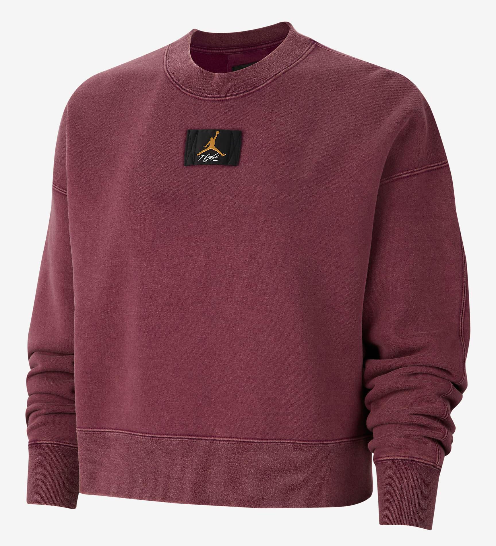 jordan-womens-flight-sweatshirt-bordeaux-laser-orange