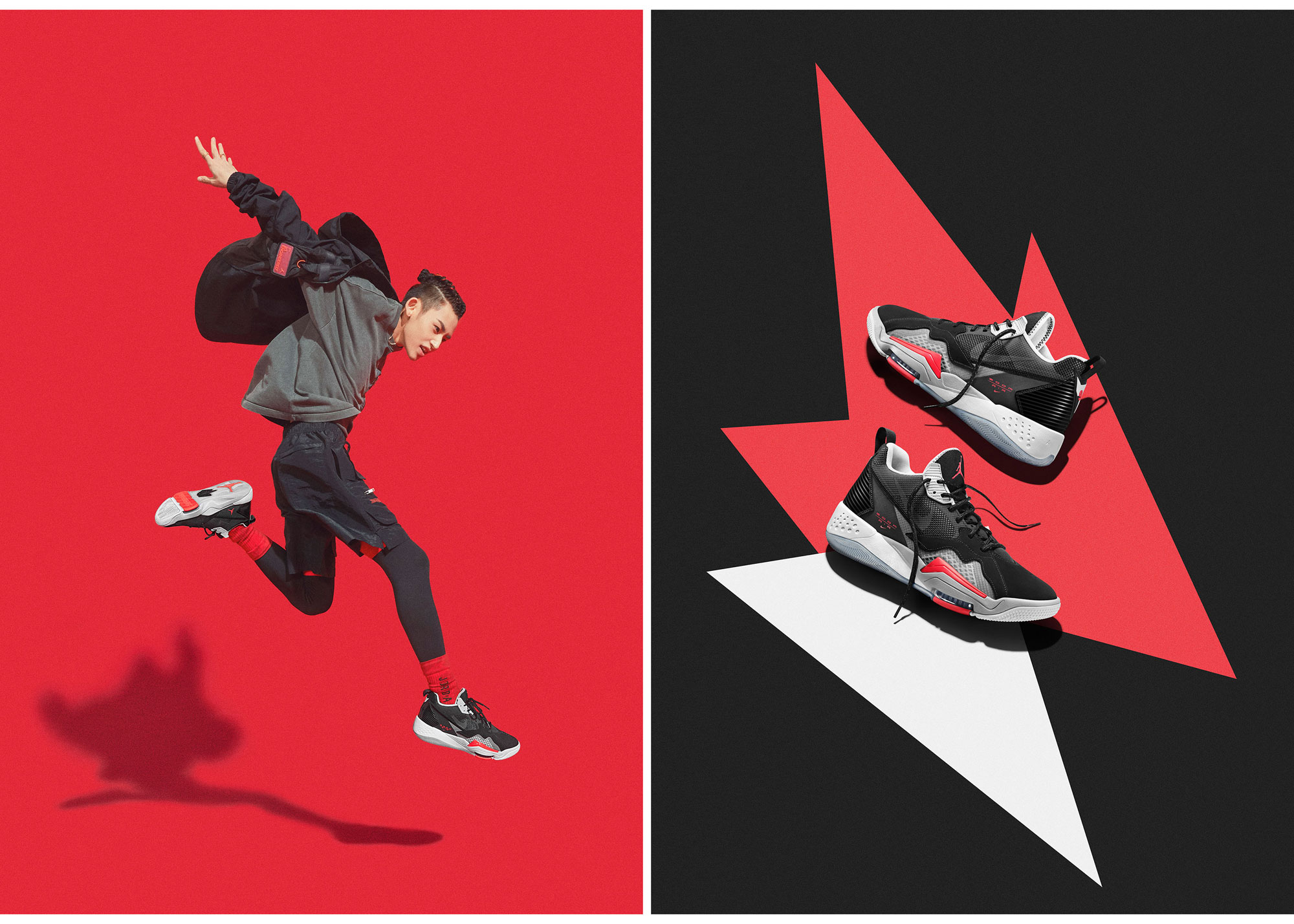 jordan-zoom-92-black-red-bred-cement-clothing-match