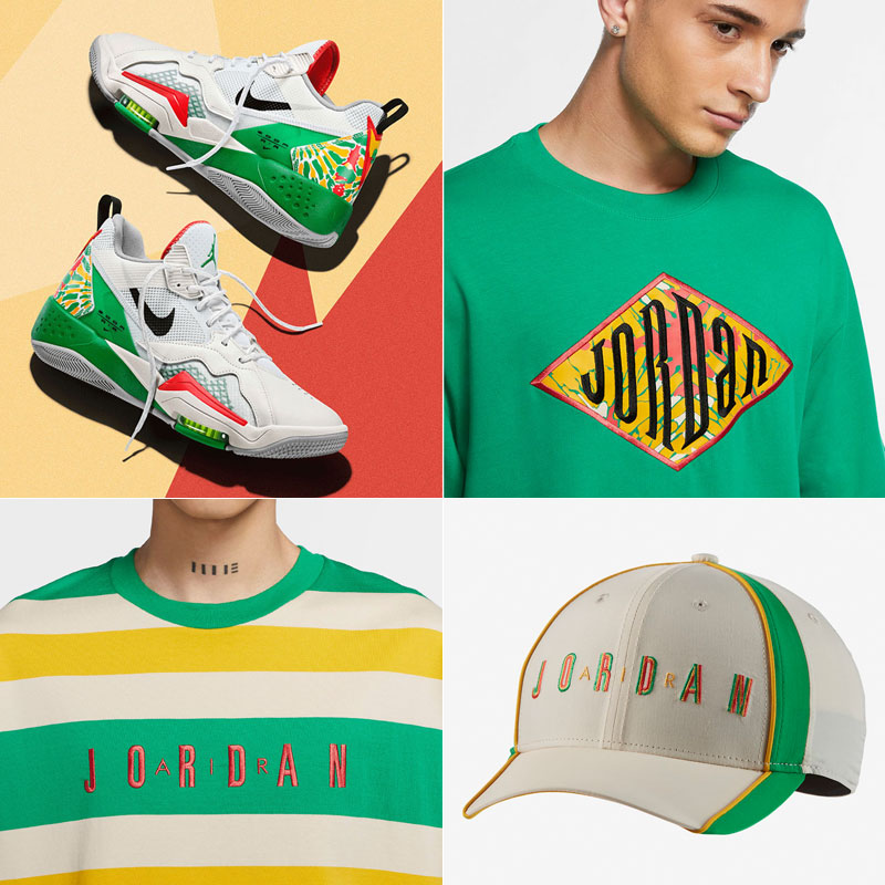 jordan-zoom-92-summit-white-lucky-green-sneaker-outfits