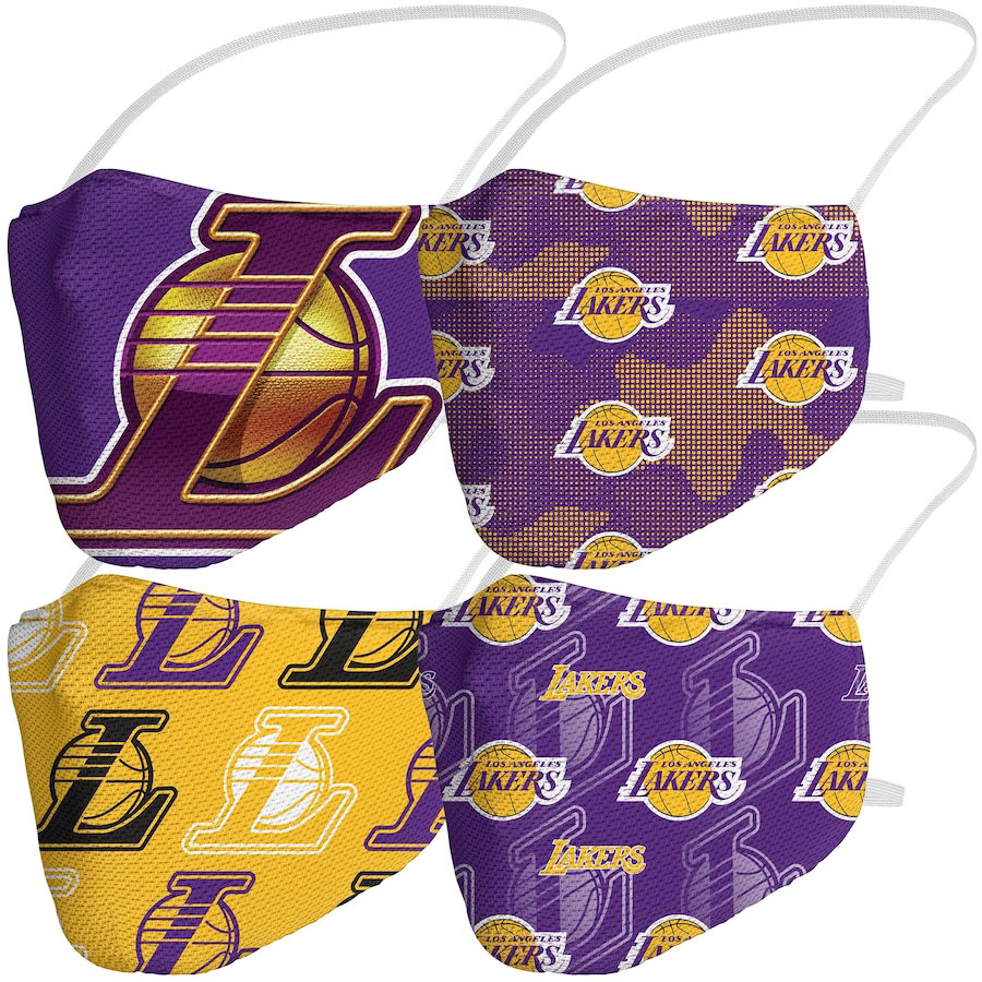 la-lakers-face-masks