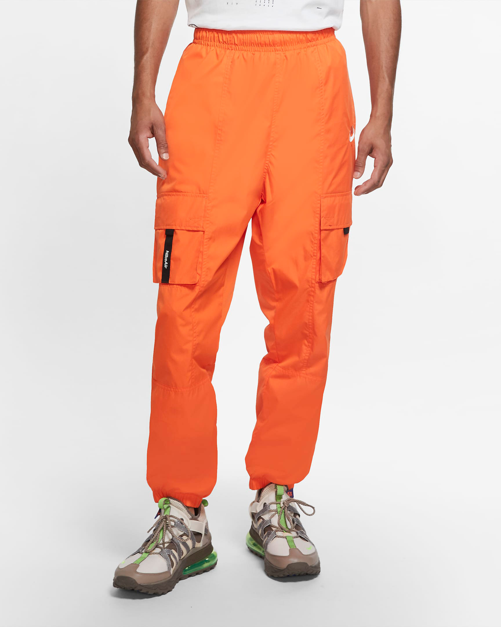 nike-air-cargo-pants-orange