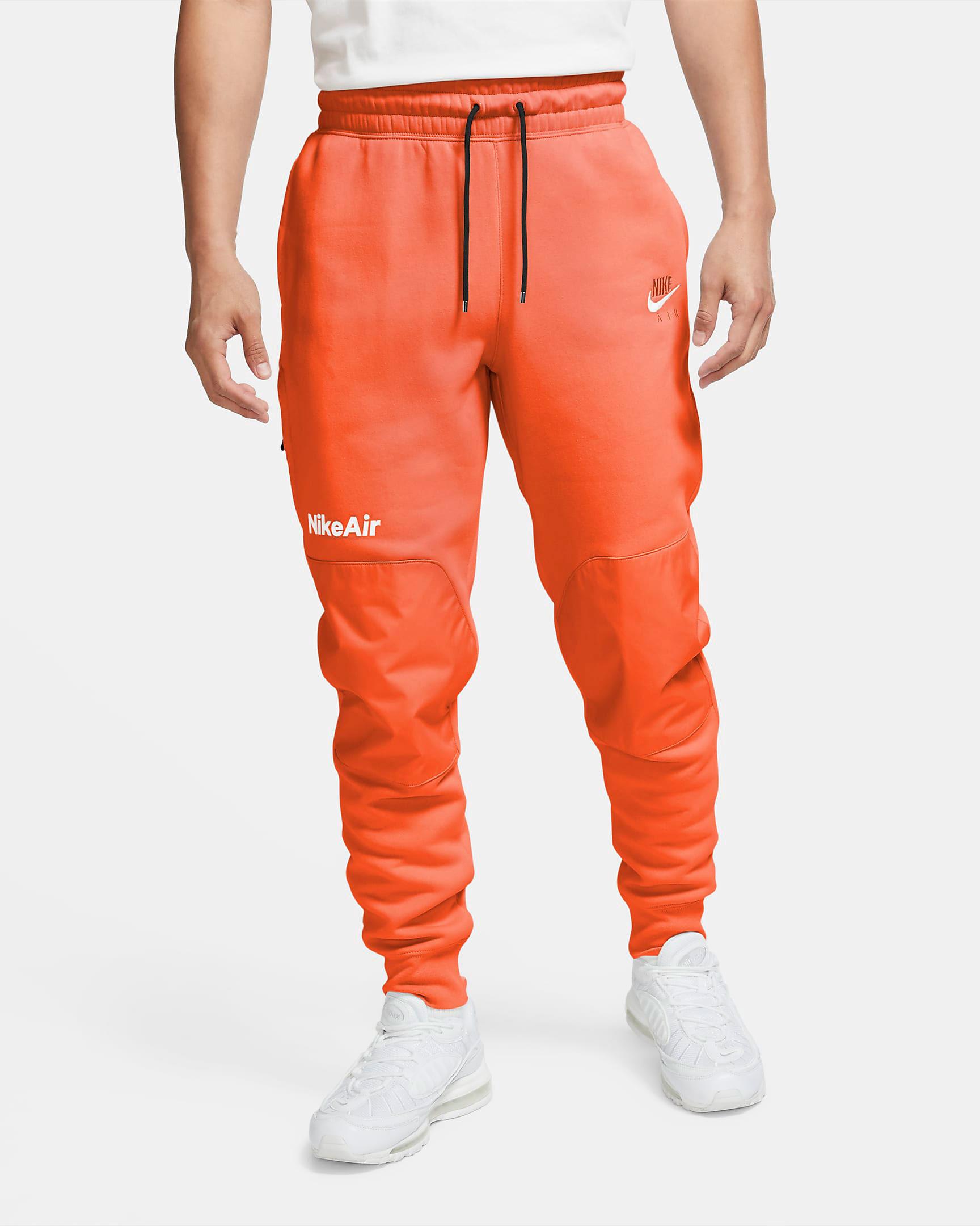 nike-air-fleece-pants-electro-orange