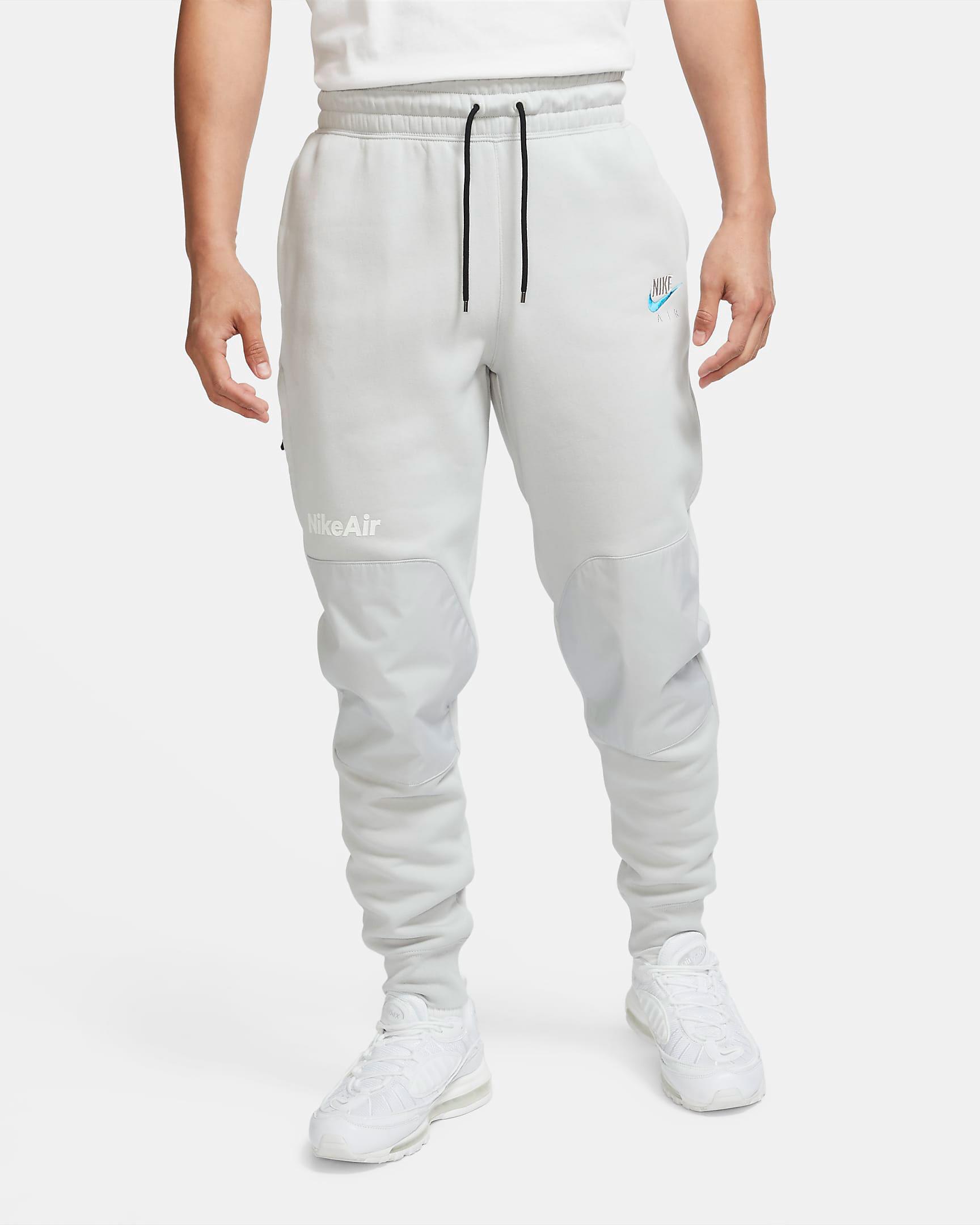 nike-air-fleece-pants-grey-fog-laser-blue