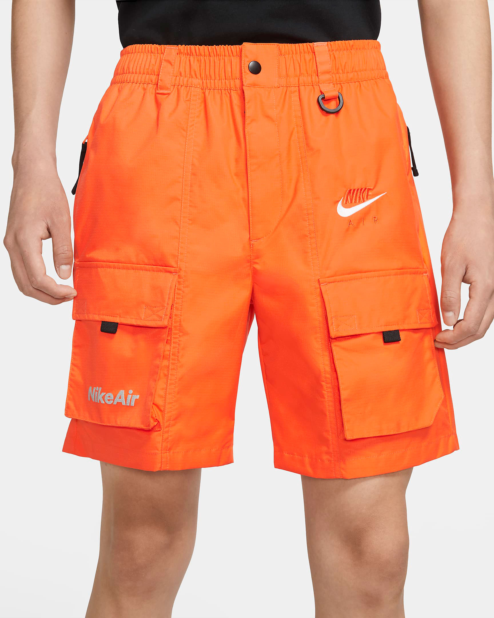 nike-air-shorts-orange