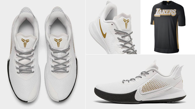 nike-kobe-mamba-fury-white-gold-lakers-shirt-match