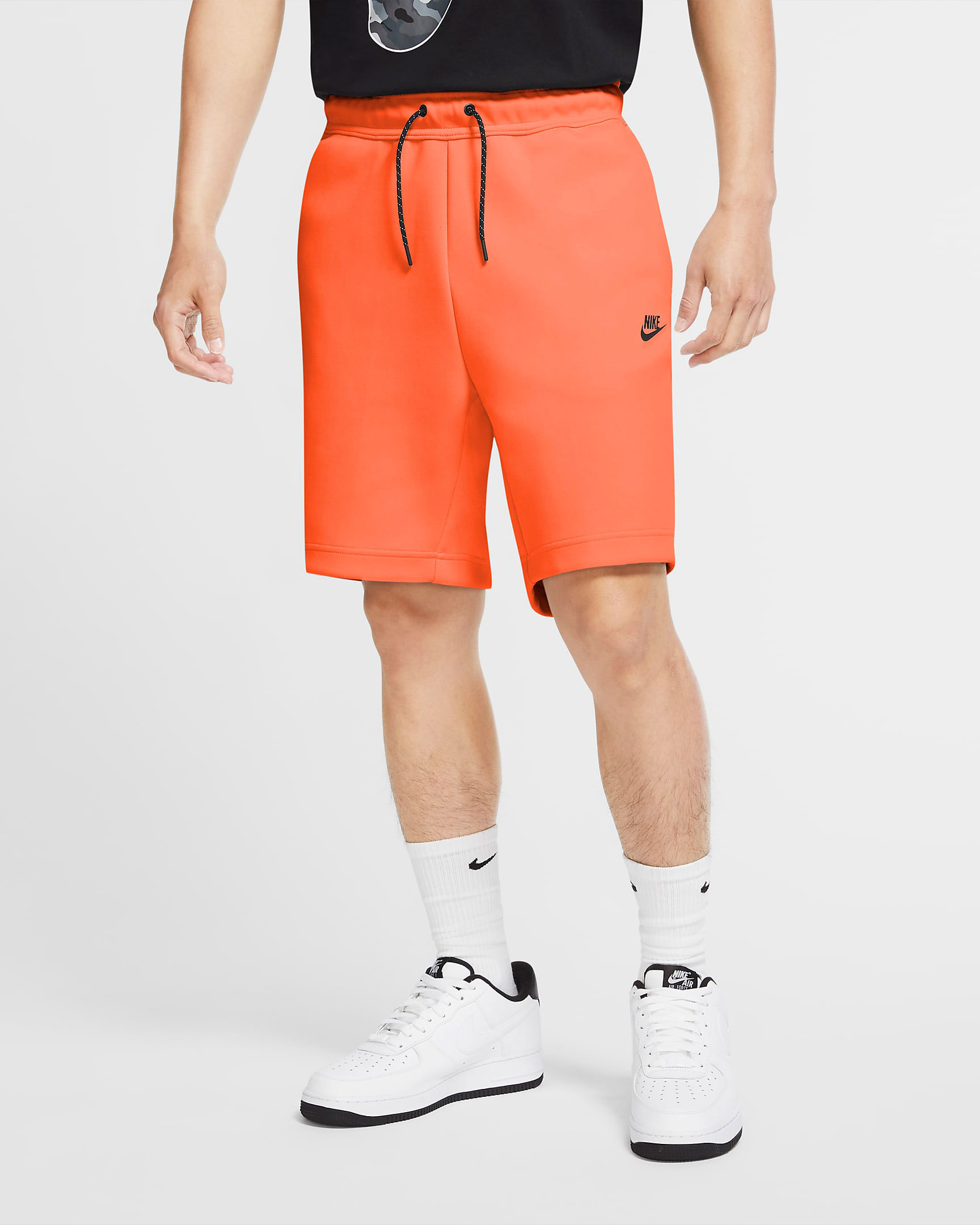 nike-tech-fleece-shorts-orange