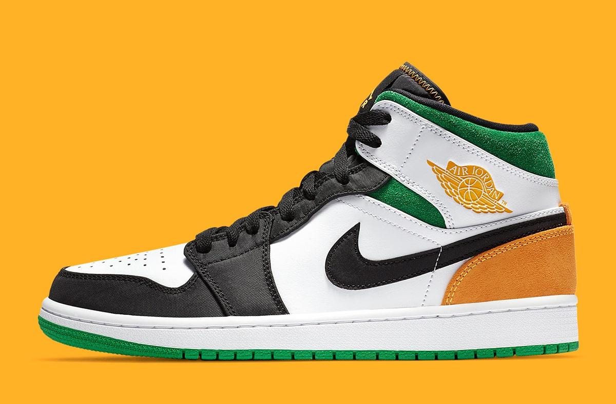 air-jordan-1-mid-se-white-black-green-laser-orange-852542-101-release-date-2
