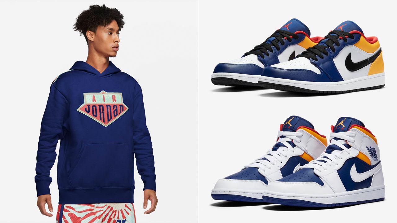 air-jordan-1-royal-blue-laser-orange-hoodie-match