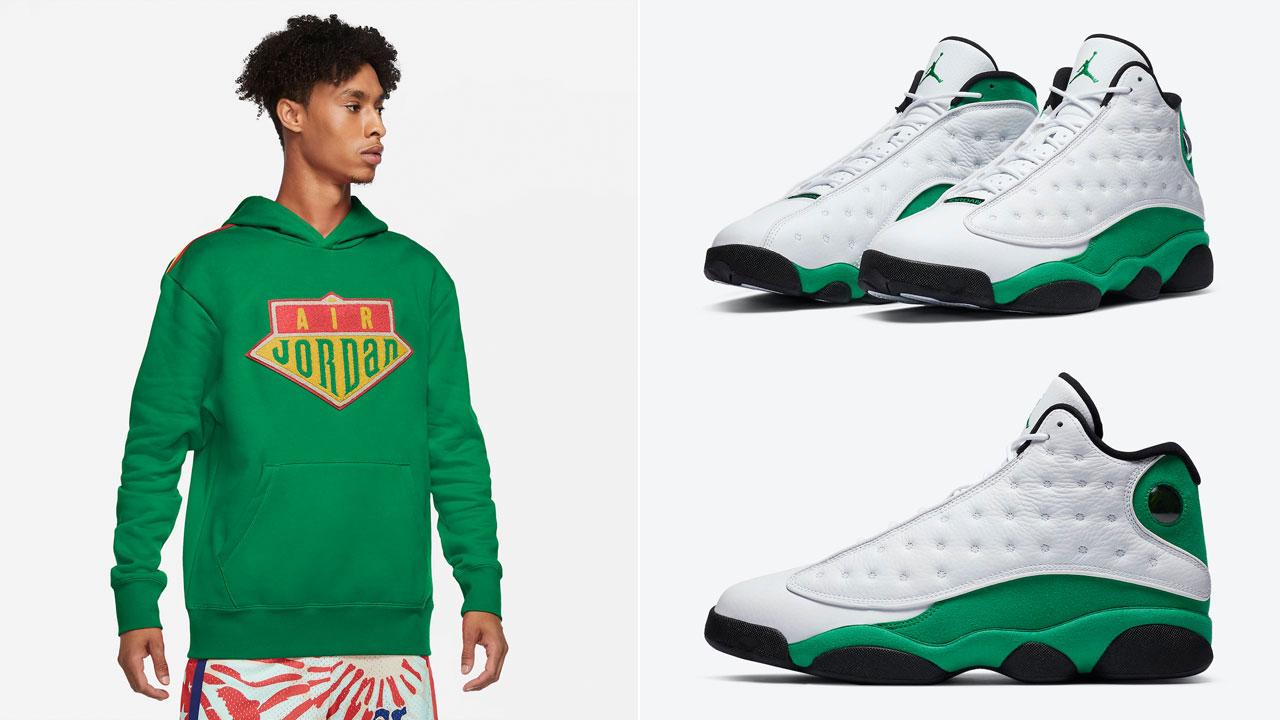 air-jordan-13-lucky-green-hoodie