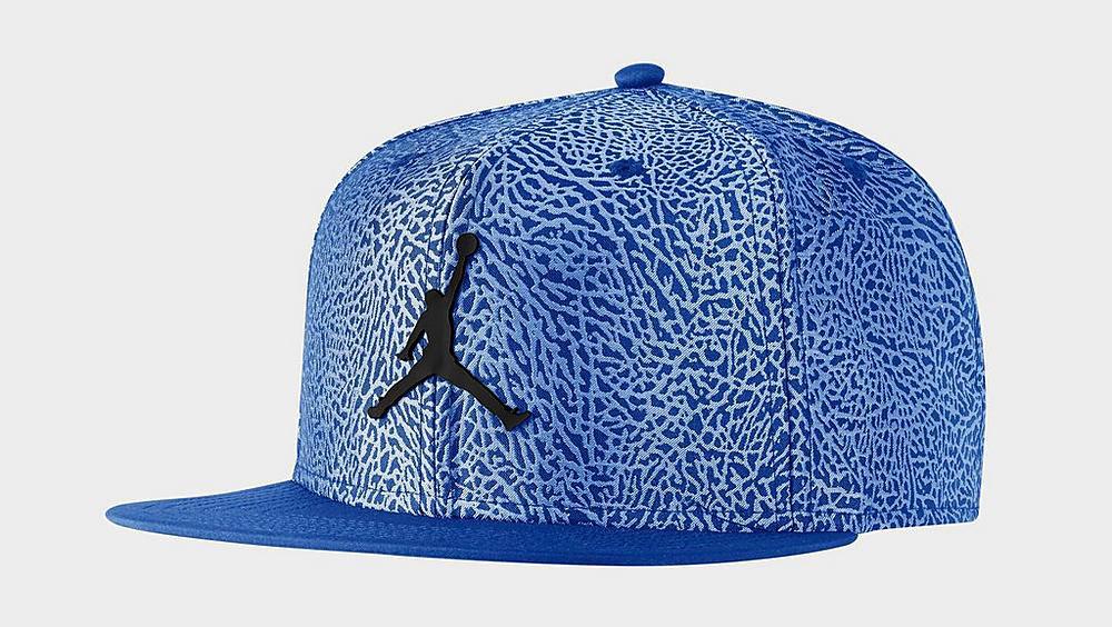 air-jordan-14-hyper-royal-blue-snapback-hat-1