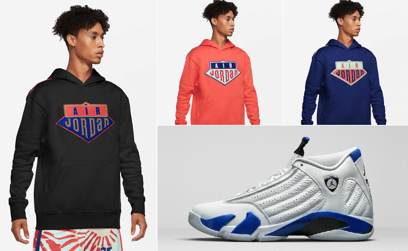 air-jordan-14-hyper-royal-hoodies-to-match