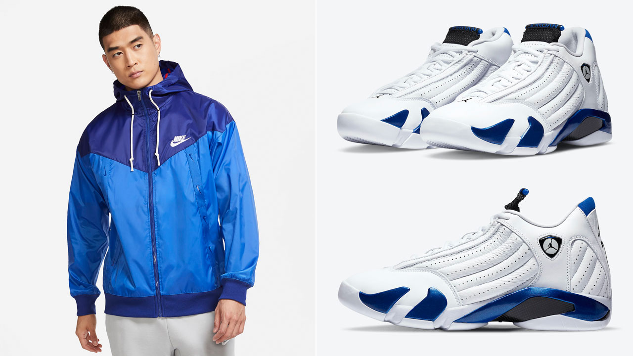 air-jordan-14-hyper-royal-jacket-match