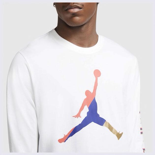 air-jordan-14-hyper-royal-long-sleeve-shirt-match-1