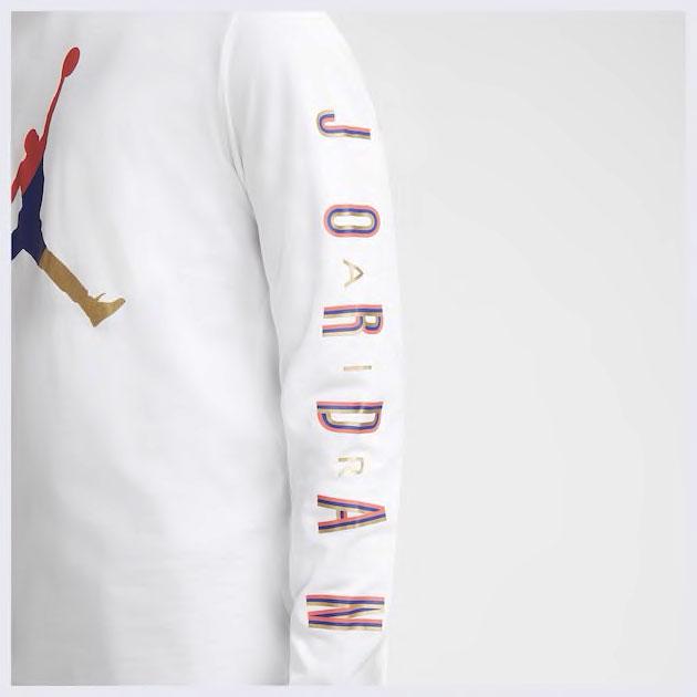 air-jordan-14-hyper-royal-long-sleeve-shirt-match-2