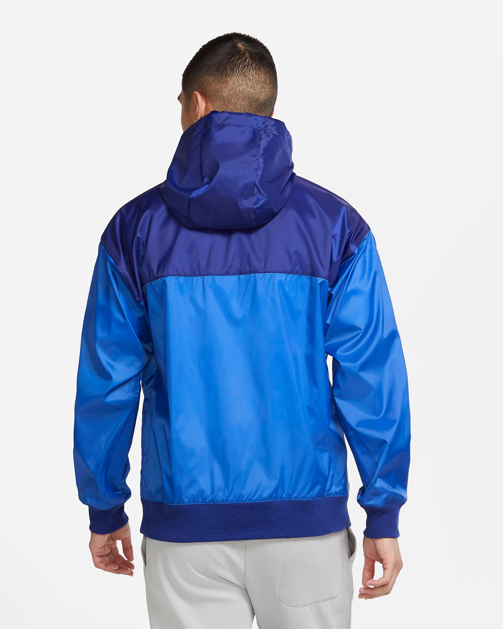 air-jordan-14-hyper-royal-nike-jacket-match-2