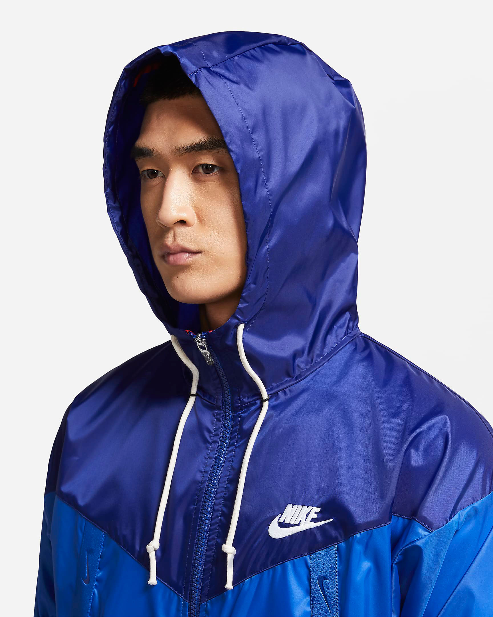 air-jordan-14-hyper-royal-nike-jacket-match