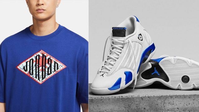 air-jordan-14-hyper-royal-shirts