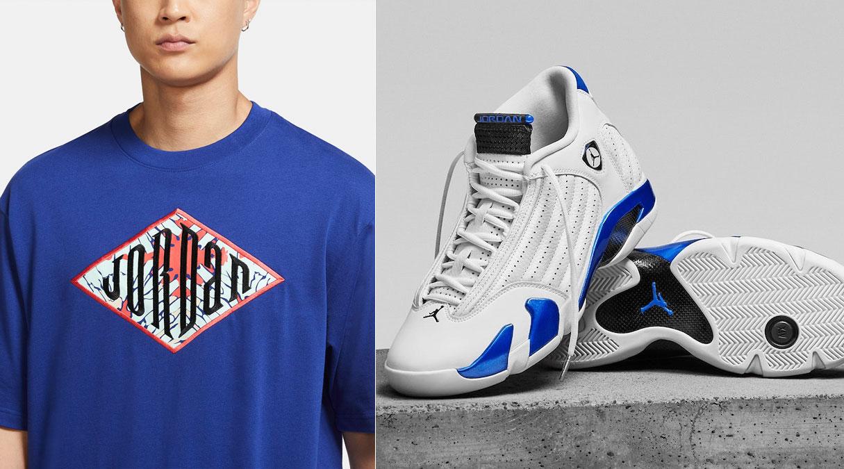 air-jordan-14-hyper-royal-shirts