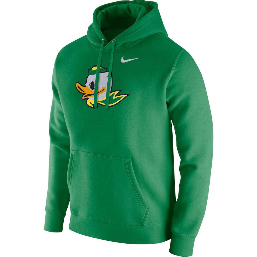 air-jordan-5-oregon-ducks-nike-hoodie-green