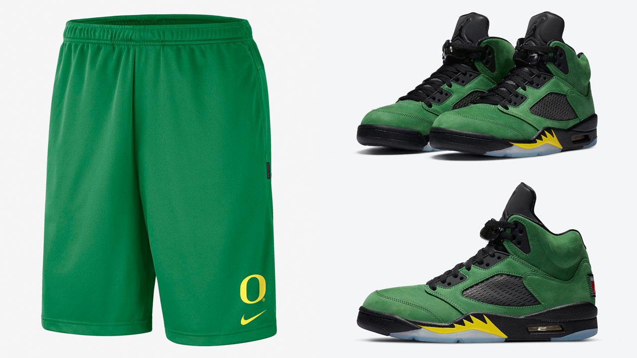 air-jordan-5-oregon-ducks-shorts