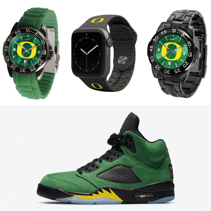 air-jordan-5-oregon-ducks-watches-to-match
