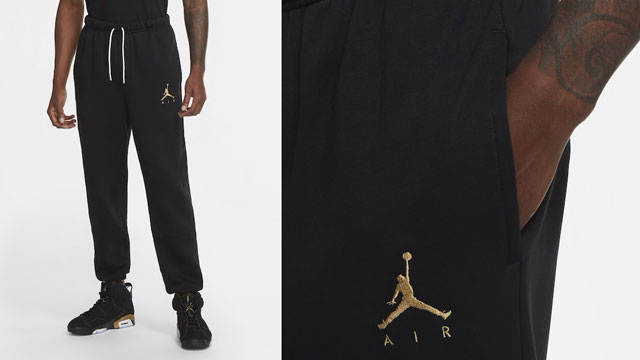 air-jordan-6-dmp-black-gold-pants-match