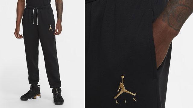 air-jordan-6-dmp-black-gold-pants-match